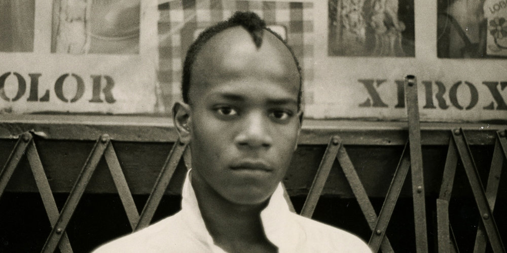 The legend... Jean-Michel Basquiat