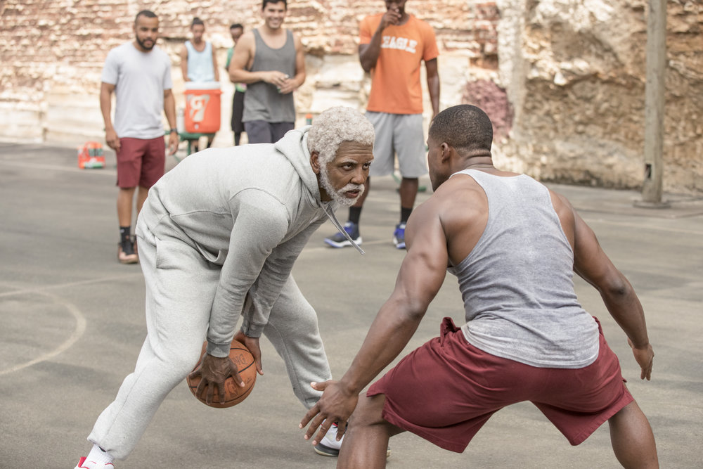 "Kyrie Irving schools a ""youngblood"" as the title character in Uncle Drew"
