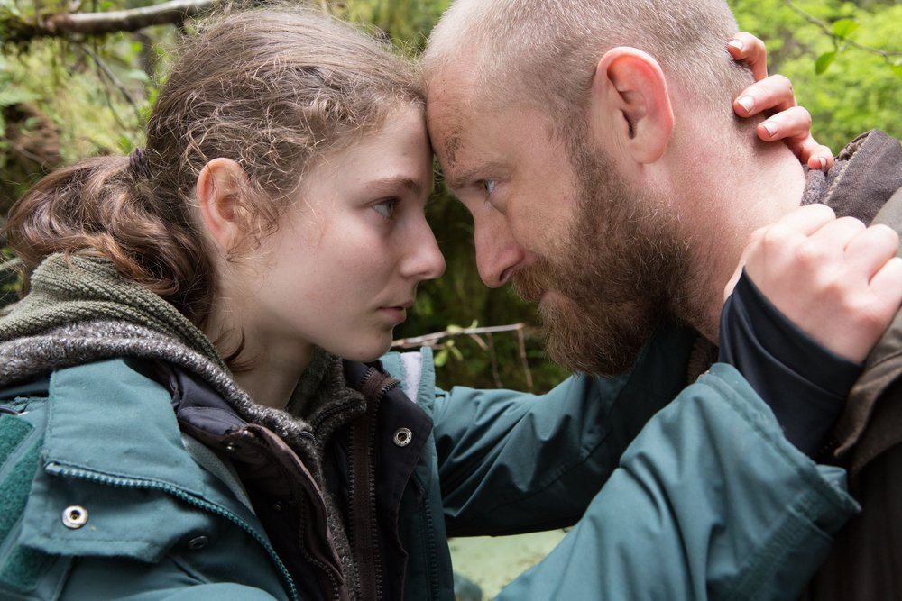Thomasin Harcourt McKenzie and Ben Foster are a lost daughter-and-father in Leave No Trace