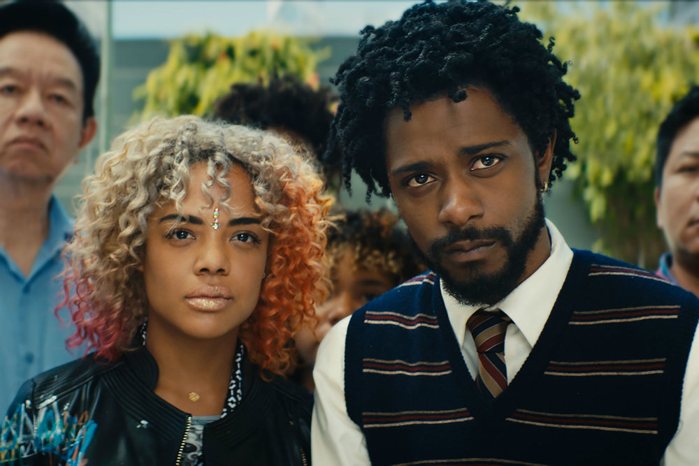 Tessa Thompson and Lakeith Stanfield.