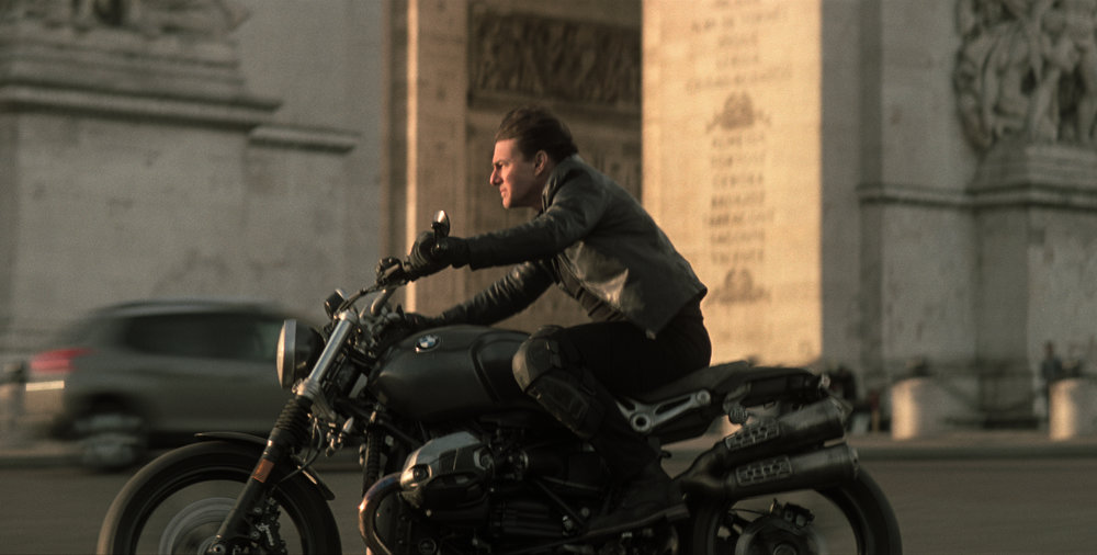 Cruise as Ethan Hunt in Mission: Impossible - Fallout. Can't stop, must... keep... actioning.