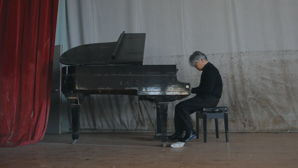 "The composer on Fukushima-damaged keys: ""Like playing a corpse of a piano that drowned."""