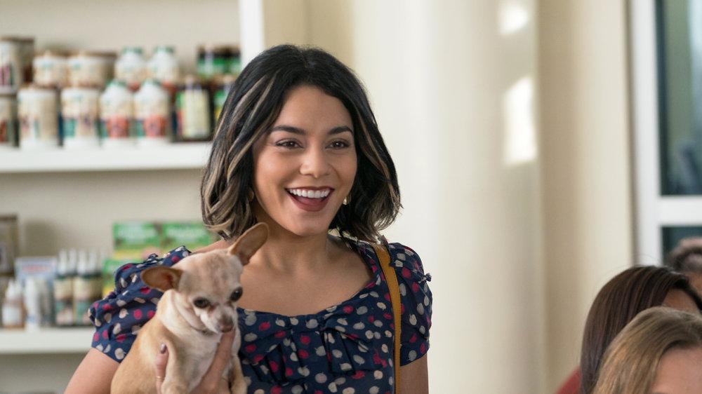 Dog Days' dog lover Vanessa Hudgens: Yes, you heard me right - cats equal Satan.