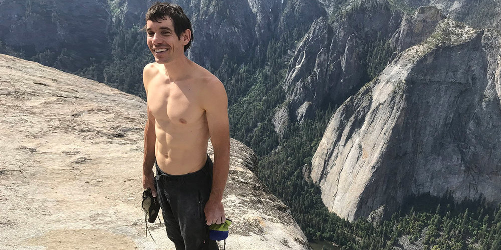 The thrilling Free Solo...