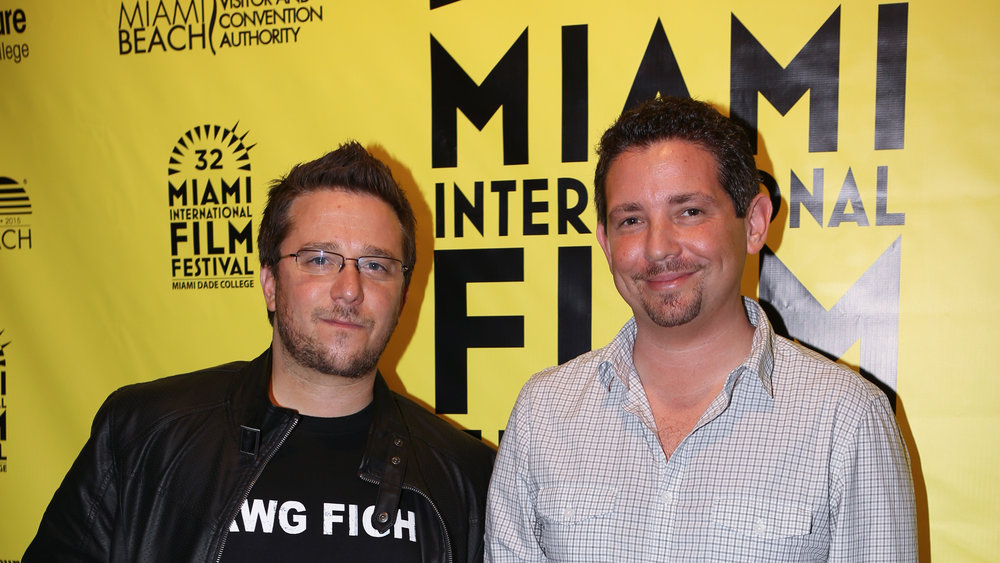 "Filmmakers Corben and Spellman, experts in ""Florida f—-ery."""