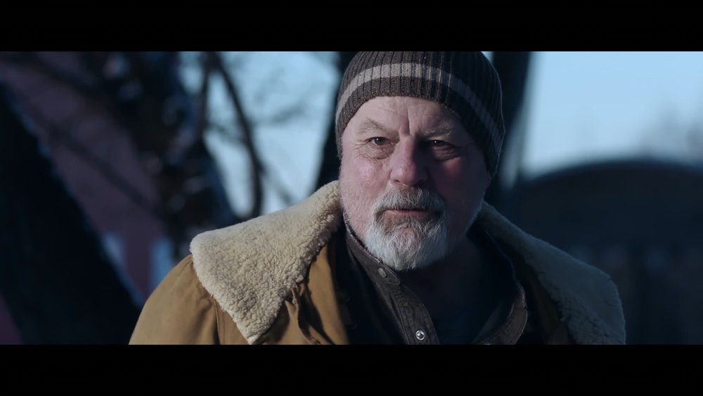 Michael Ironside as Jacob, the secretive, hermit-like granddad in Knuckleball