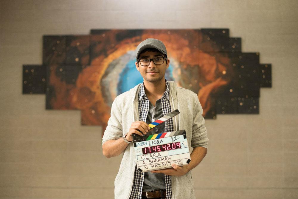 Director Akash Sherman.