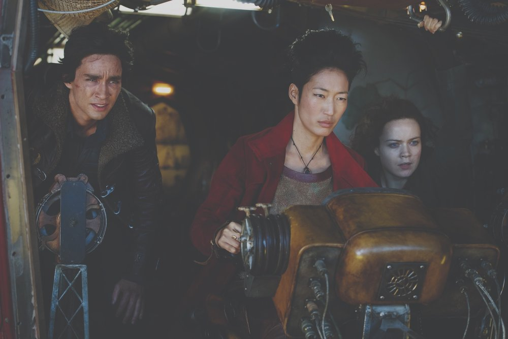A scene from Mortal Engines.