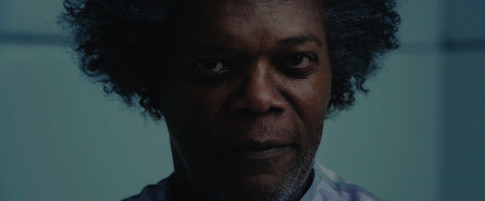 Samuel L. Jackson in M. Night Shyamalan's Glass