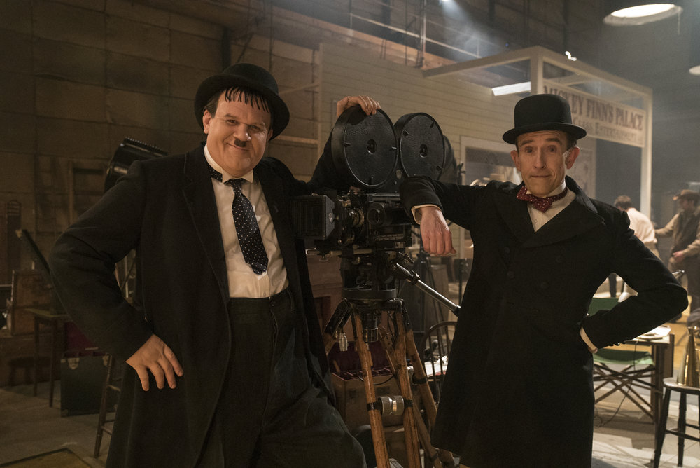 John C. Reilly and Steve Coogan as Oliver Hardy and Stan Laurel in Stan & Ollie