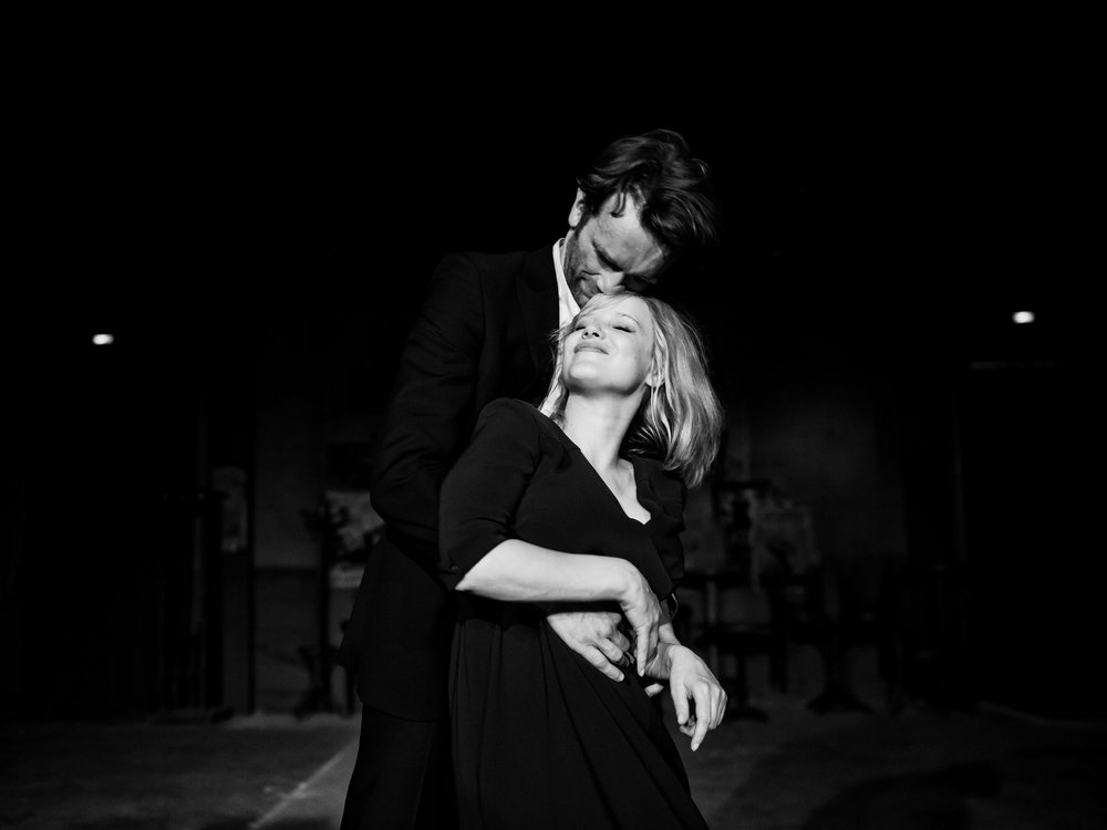 Tomasz Kot and Joanna Kulig. A musically inspired romance heats up in Pawel Pawilikowski's Cold War