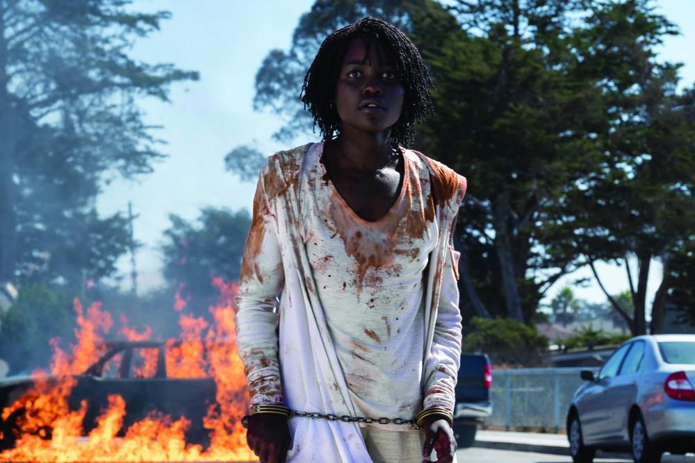 Lupita Nyong'o in Jordan Peele's Us
