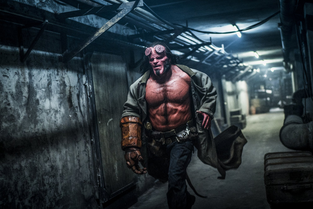 David Harbour is one handsome Hellboy