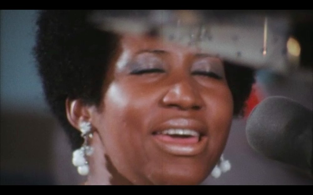 Aretha Franklin in the must-see Amazing Grace