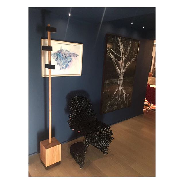 Nosso Mancebo Helena em versão madeiras na #casacor2017 no lindo espaço do arquiteto René Fernandes! #estudiocipo #renefernandes