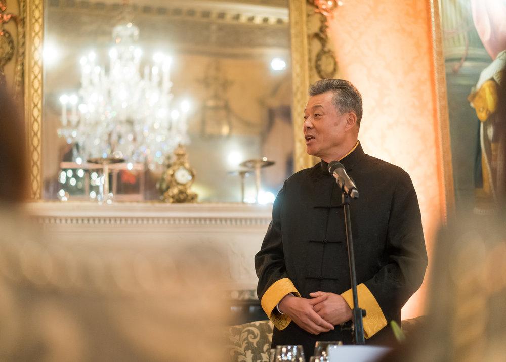Liu Xiaoming, the Chinese ambassador to the United Kingdom