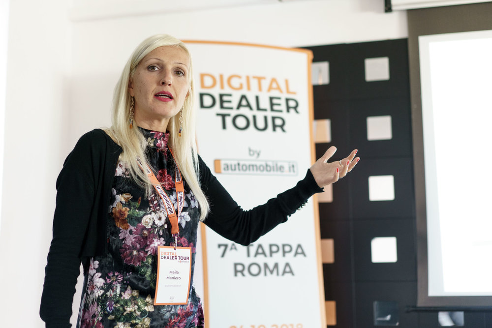 Digital Dealer Tour by Automobile.it - Fotografia Eventi a Villa Veientana