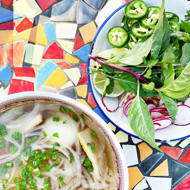 Don't know about you, but we feel like we need to cleanse after all of the holiday treats and drinks. Pho reaaaal!