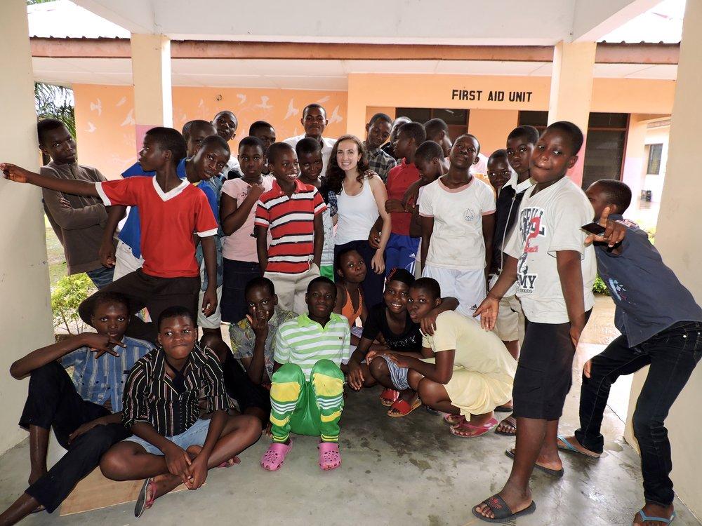 Last day at Madamfo Ghana :(