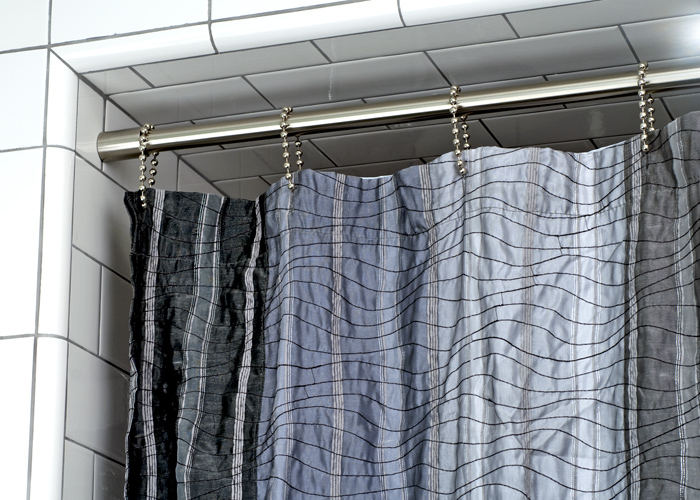One Of A Kind Shower Curtains Part - 39: Shower Rods And Sockets Custom Made Stainless Steel Or Wrought Iron Curtain  Rods? Campbell Ironworks Is Your Best Source For One-of-a-kind Curtain Rod  And ...