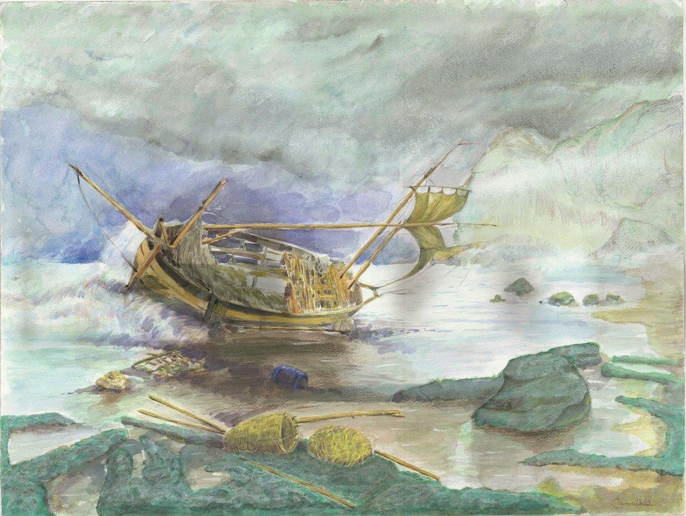 Djamel Ameziane, Shipwreck, 2011.