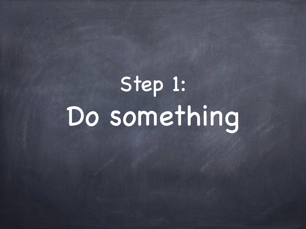 do something.001