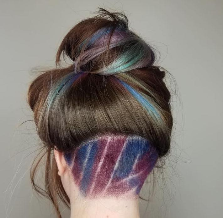 For Those Looking For A Small Addition Of Fun For Their Hairstyle, There Is  Also The Option Of Tattooing Or Adding Designs That Are Simply Lines.