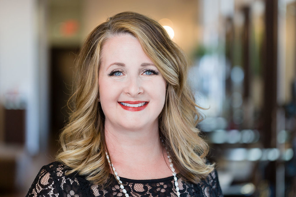 <p><strong>Melissa Audas</strong>Highland Village Salon Director