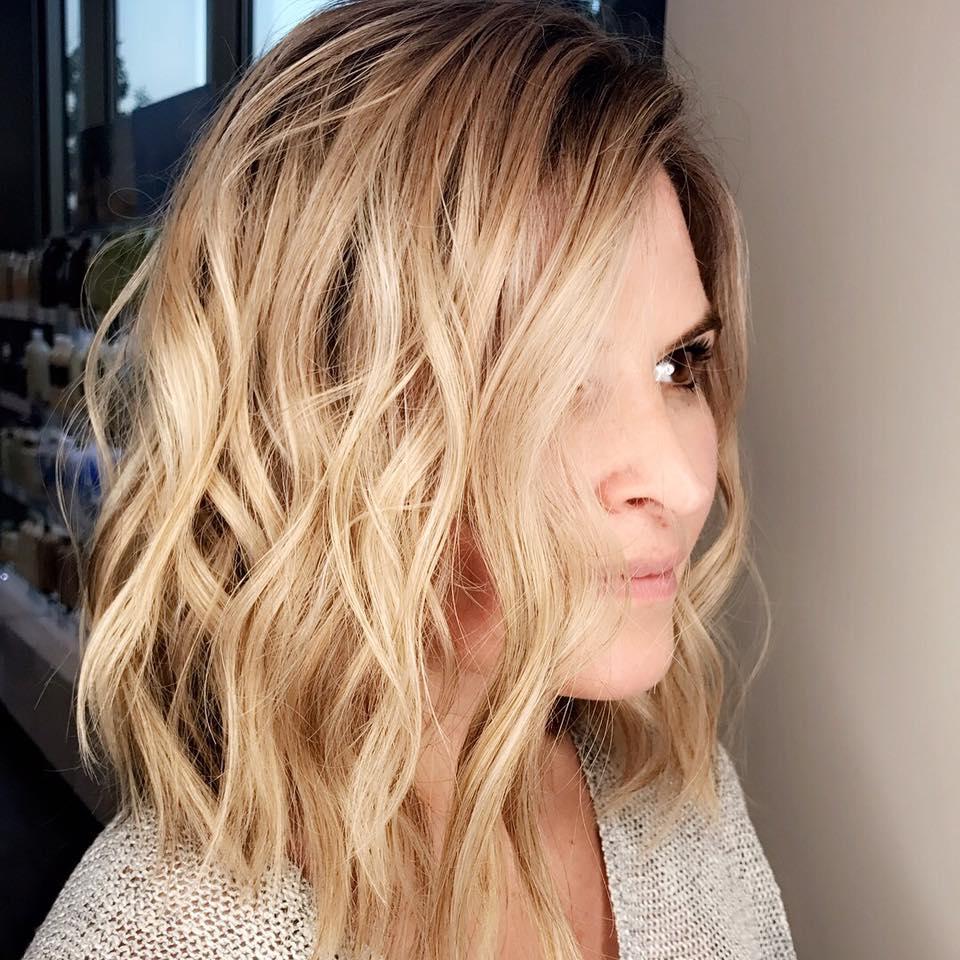 Blonde Lob Beach Waves - Dallas Hair Salon.jpg