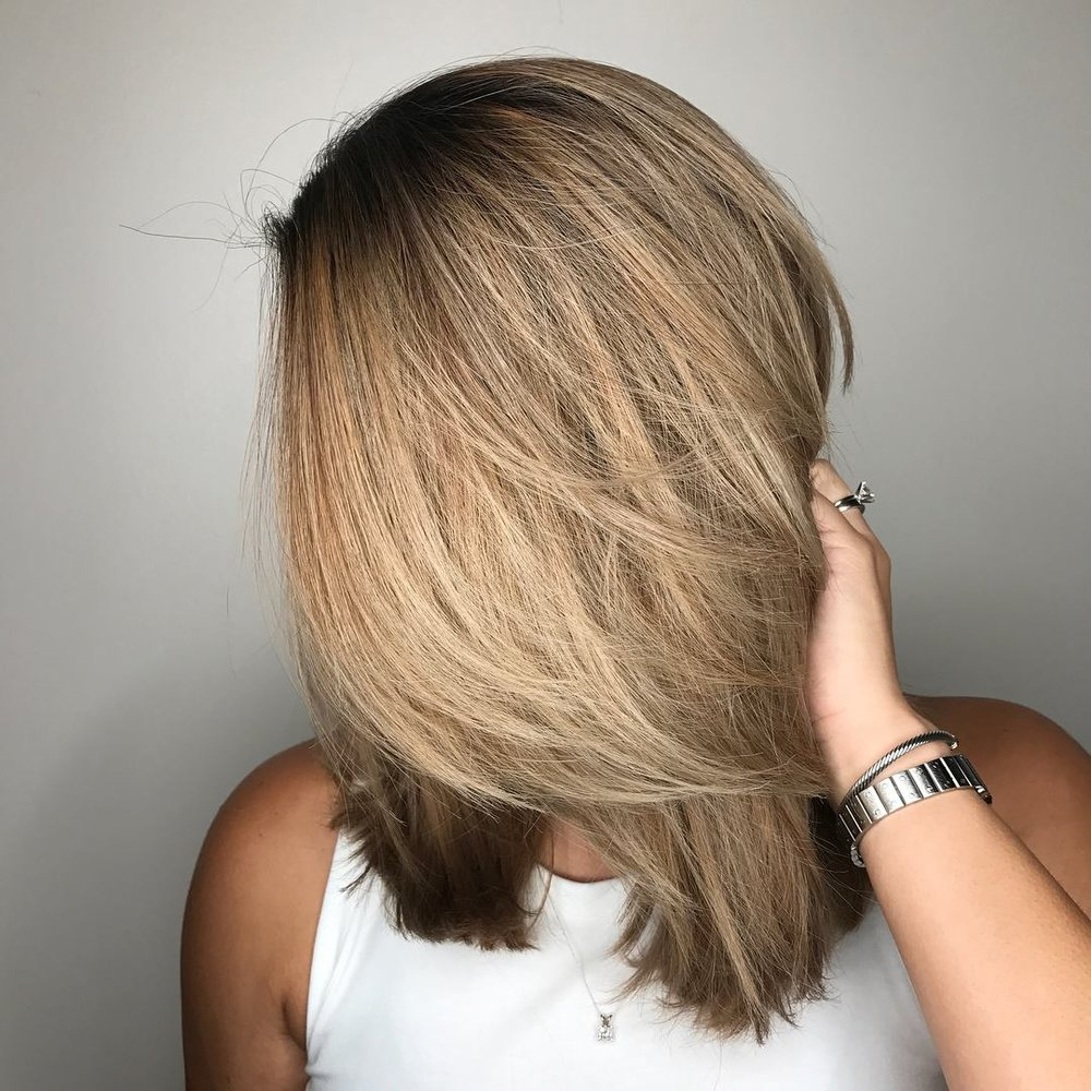 Blonde Balayage Coppell TX Hair Salon