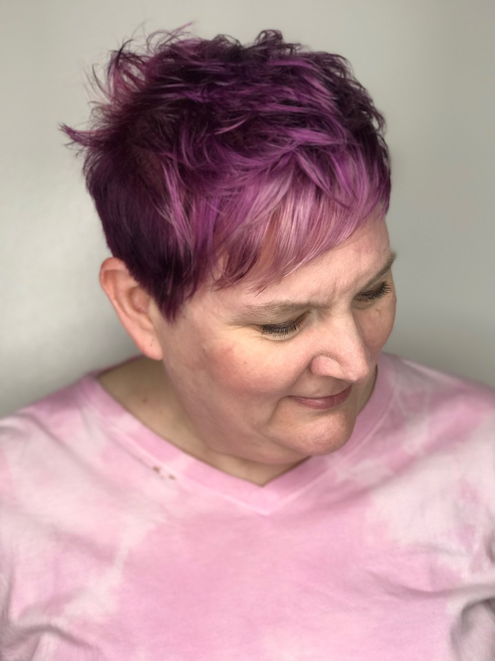purple hair color allen texas.JPG