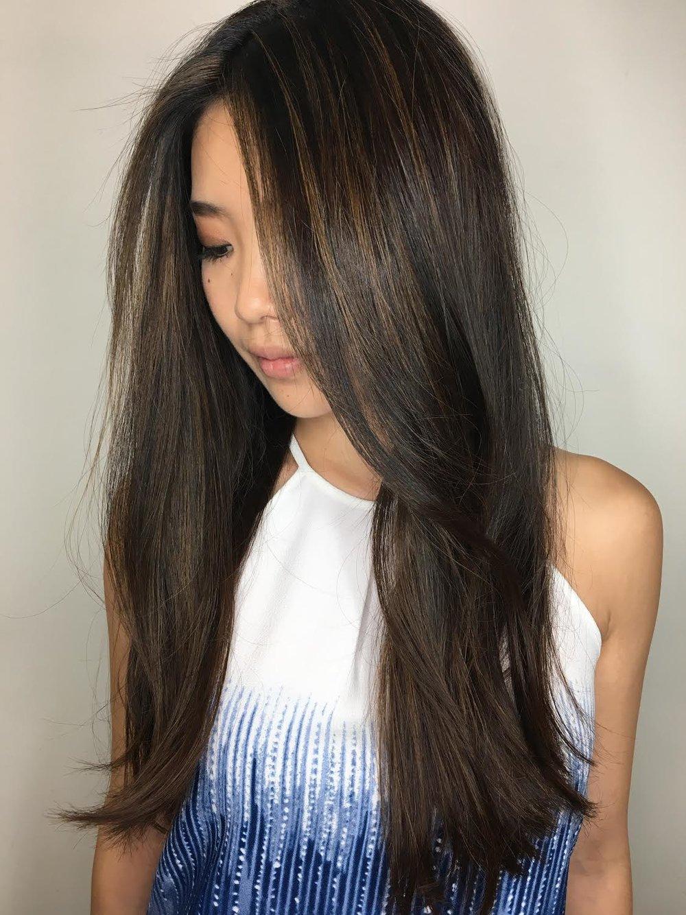 subtle caramel  balayage - allen hair salon.jpg