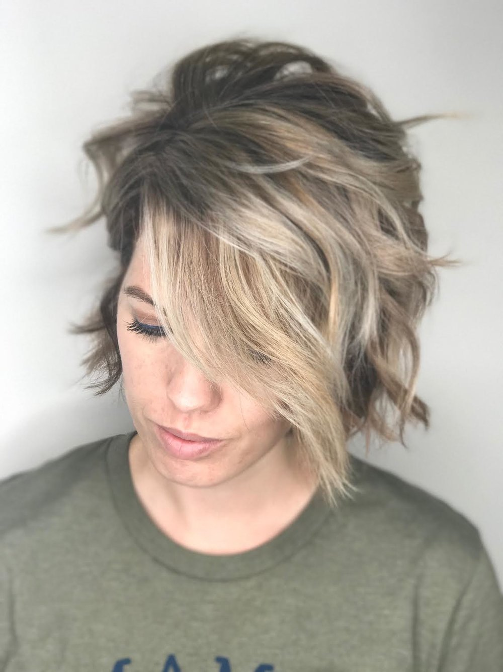Short Hair Balayage - Allen Hair Salon.jpg