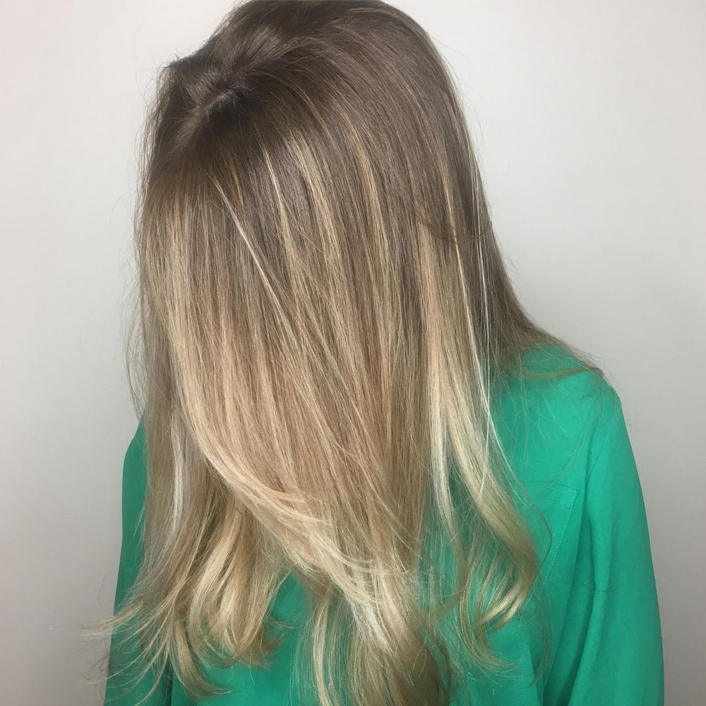 Blonde Balayage Coppell Texas