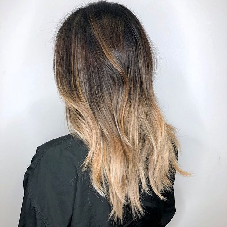 Foilyage Shadow Root Hair Color Dallas