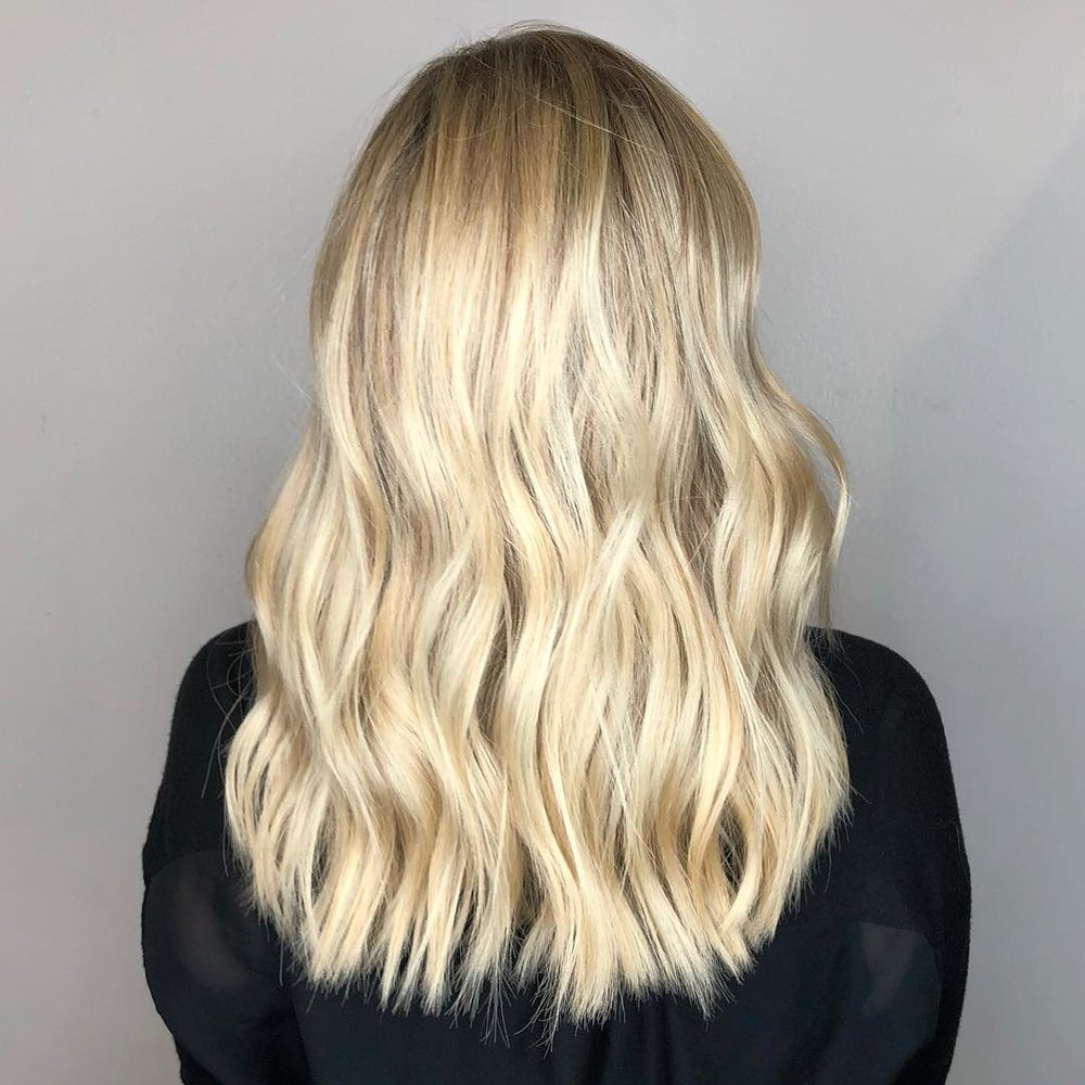 Blonde Highlights Highland Village TX