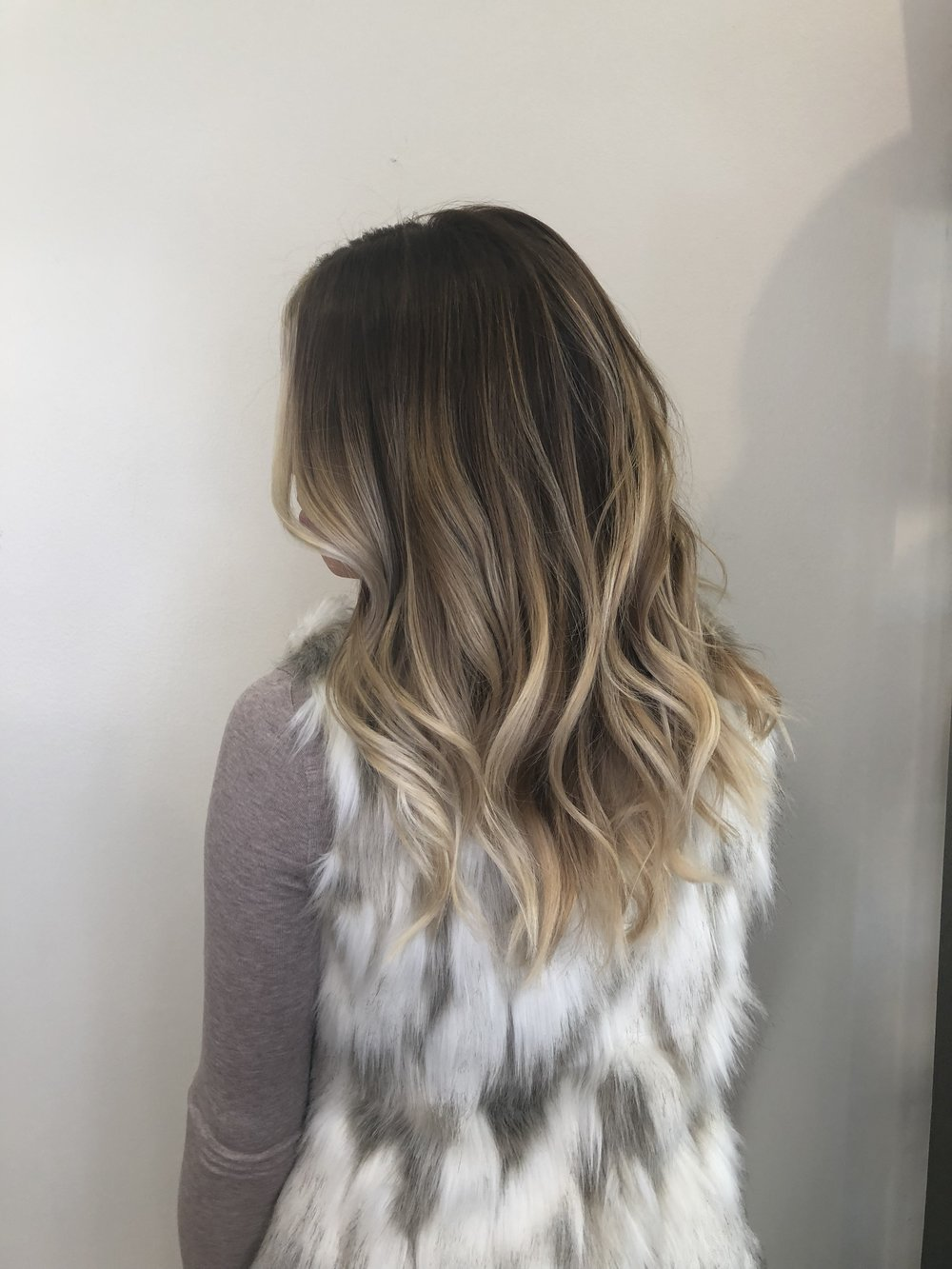 Balayage Hair Color Highland Village TX