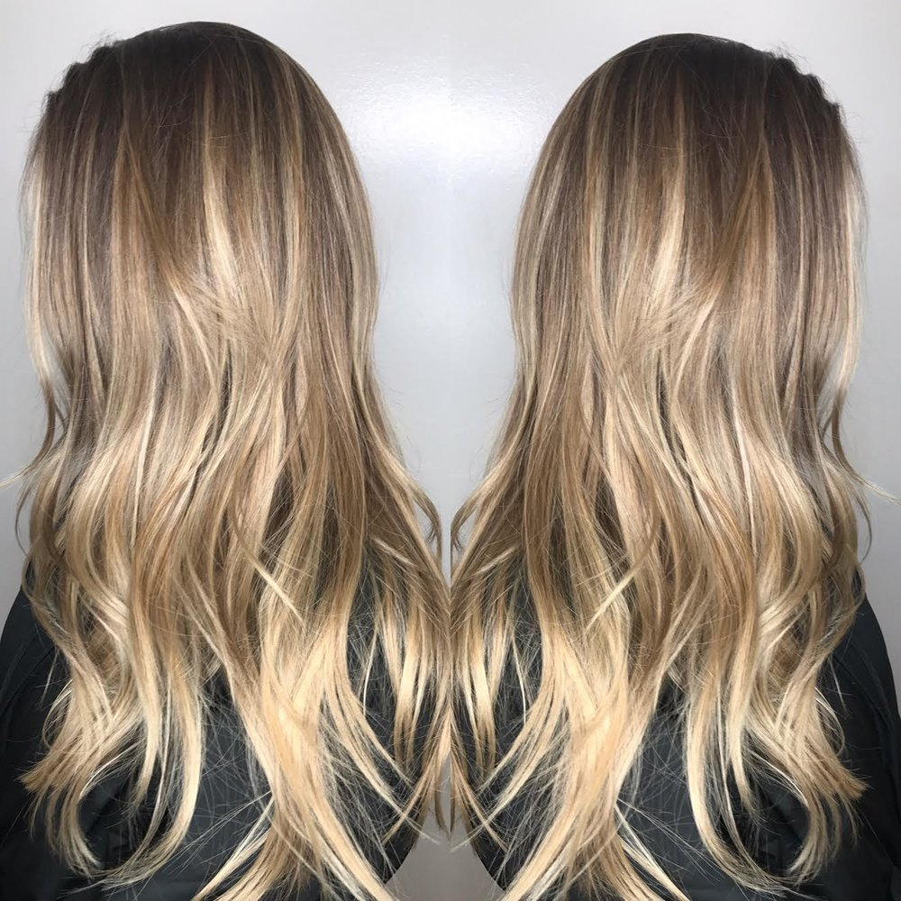 Blonde Highlights Allen TX