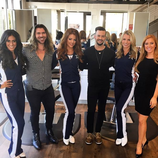 Dallas Cowboys Cheerleaders Salon