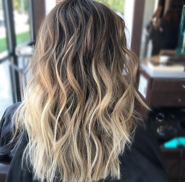 Brunette Balayage Coppell TX