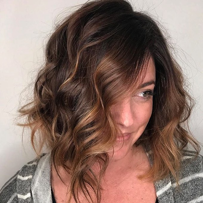 Partial Highlights To Frame Your Face Tangerine Salon