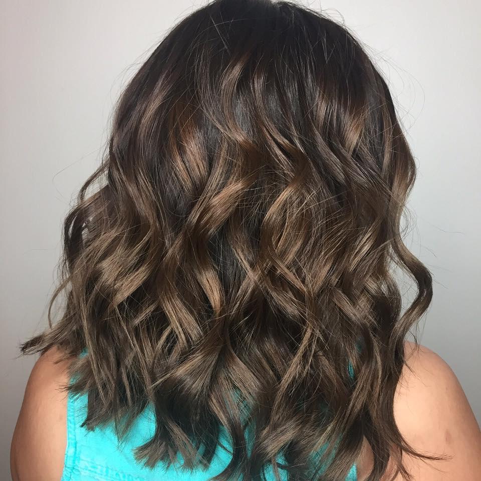 Partial Highlights Hair Salon Dallas