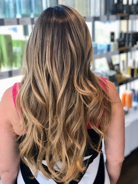Blonde Haircolor Dallas TX