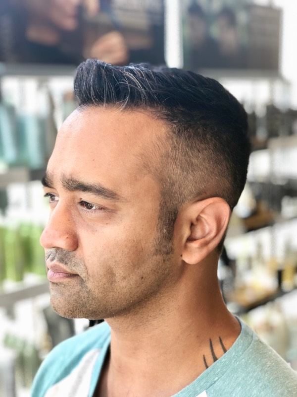 Mens Fade Haircut Dallas