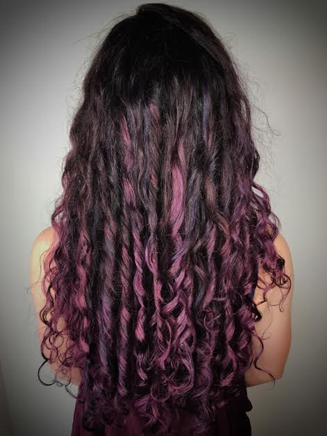 Purple Haircolor Allen Texas