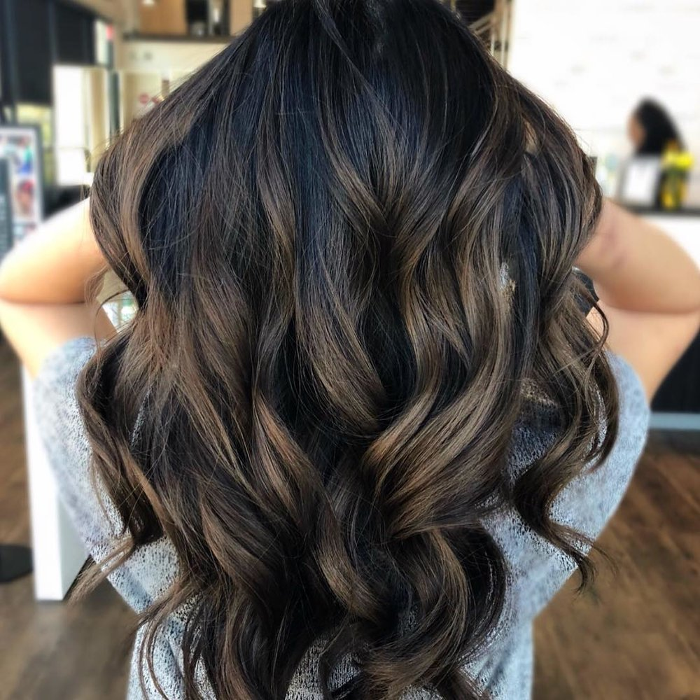 Dark Chocolate Hair Color by Jessica at Tangerine Salon Dallas