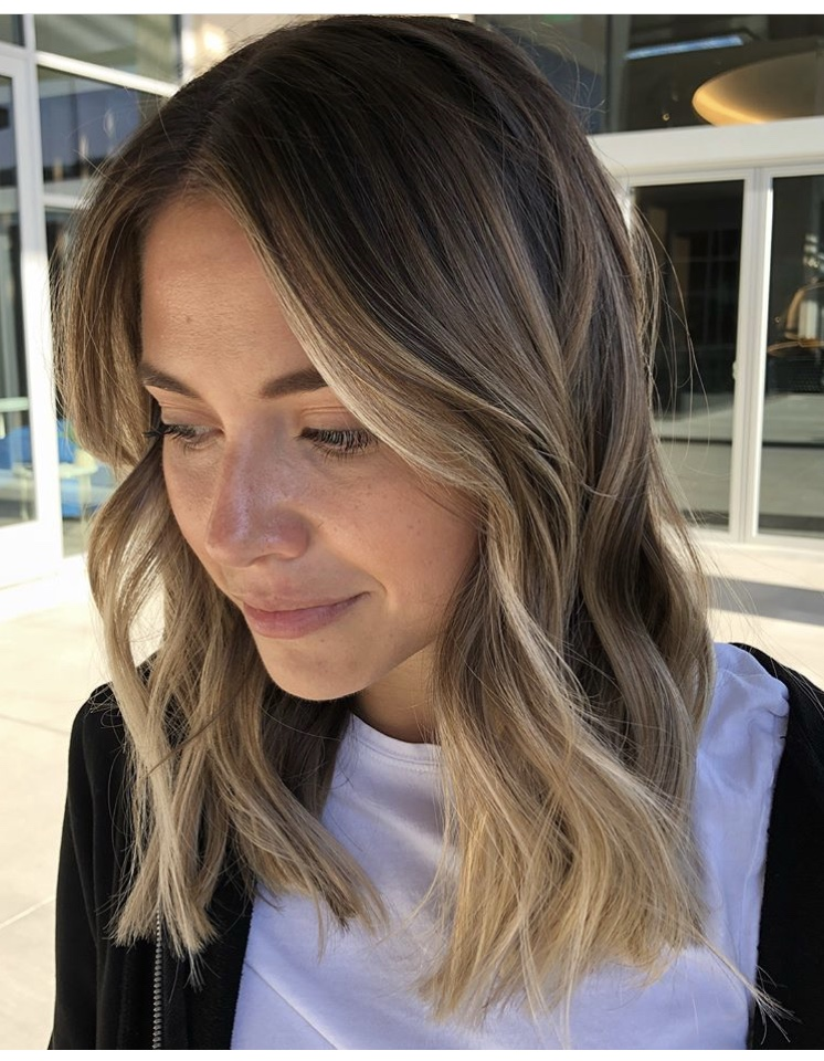 Face Framing Balayage Frisco