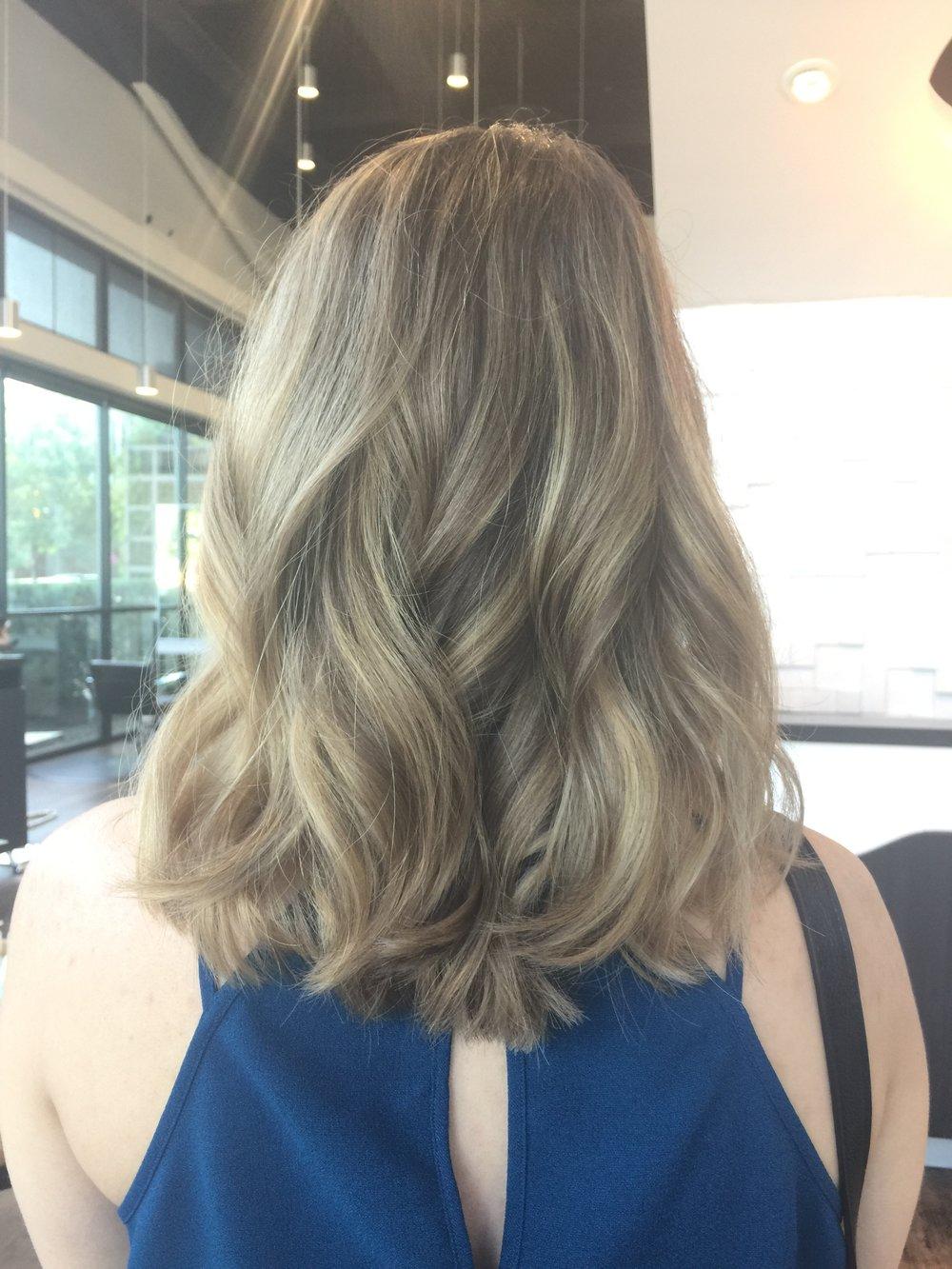 Blonde Hair Dallas Texas