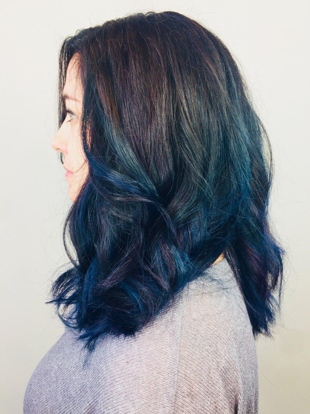 Vibrant Hair Color Dallas Texas