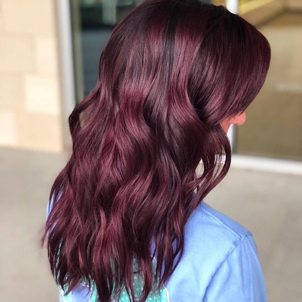 dark mauve hair color
